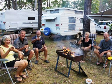 Blog: Campfires in van parks - friend or foe?