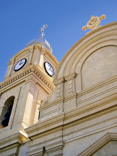 The baroque-style Abbey Church