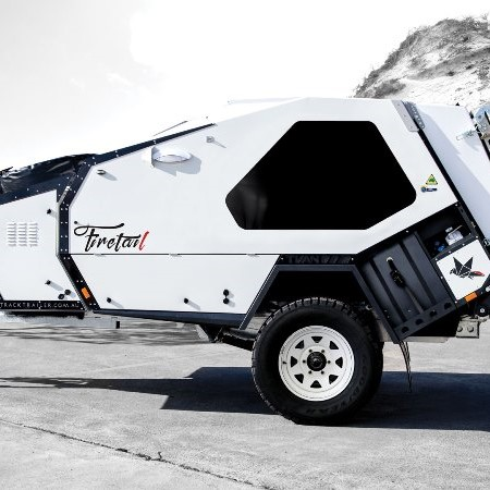 The Track Trailer Tvan Firetail LE.
