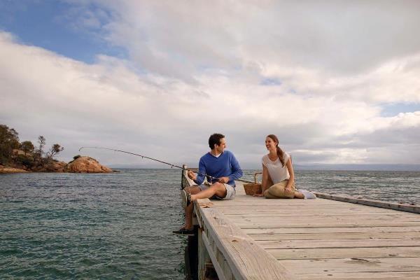 The BIG4 Rivershore Resort on the Sunshine Coast.