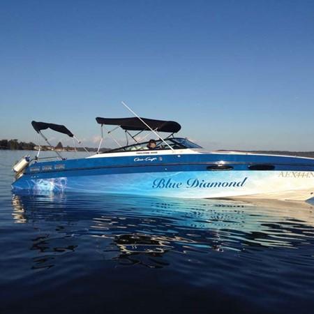 1988 Chris Craft Stinger 260 project boat