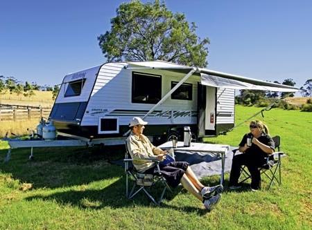 The Billabong Grove 186 caravan. Good looking and a capable all-road caravan.
