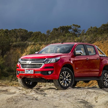 The new Holden Colorado.
