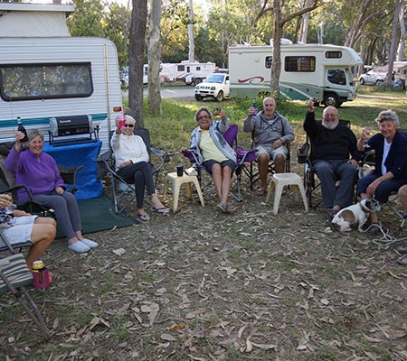 Caravanning and camping is about connecting with a community while exploring our beautiful country.