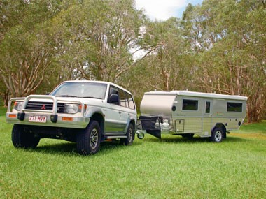 The North Coast Campers Topender XLT camper ready for action.