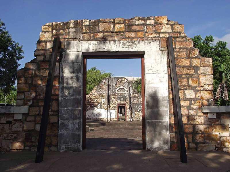 Town Hall Ruins Darwin