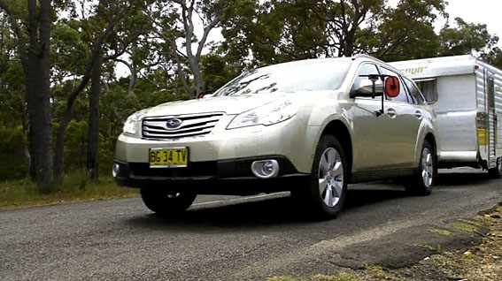 Video: Subaru Outback tow test