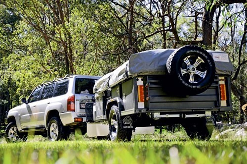 The Trackabout Safari SV Extenda looks like a hardened offroader but inside it's very modern and sty