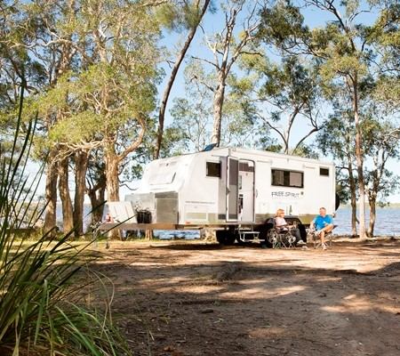 Grey Nomads make up just 25 per cent of all RV travellers.