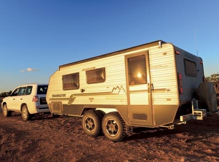 The Trakmaster Kimberley Platinum Series went to Mungo National Park and back - and performed admira
