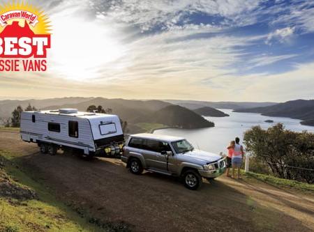 Paramount Utility luxury caravan
