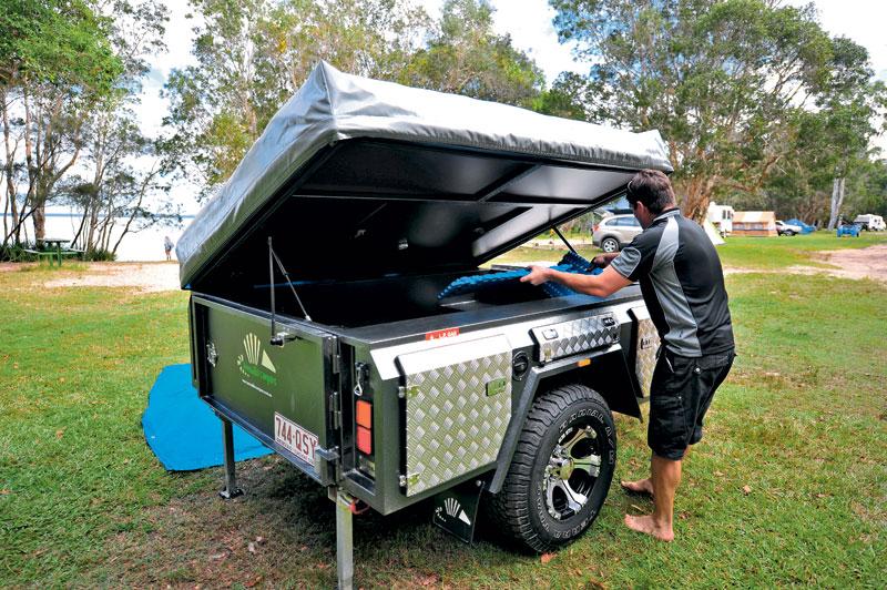 armadilo arma-x camper trailer