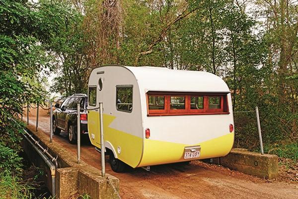 Woody Caravans Lawdy Miss Claudy Review