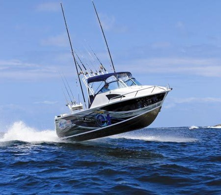 As seen on TV: the Quintrex 690 from the Escape With ET fishing show.