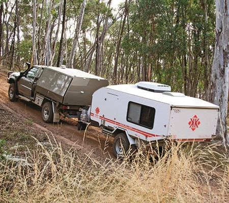 Don't overload your trailer. Keep it within its own GVM and that of the tow tug's towing limits