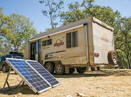 CARAVAN EQUIPMENT: Camec 120W Folding Solar Panel field test
