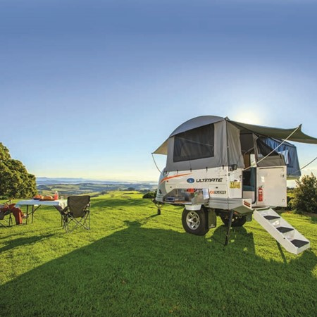 Ultimate camper trailer set up