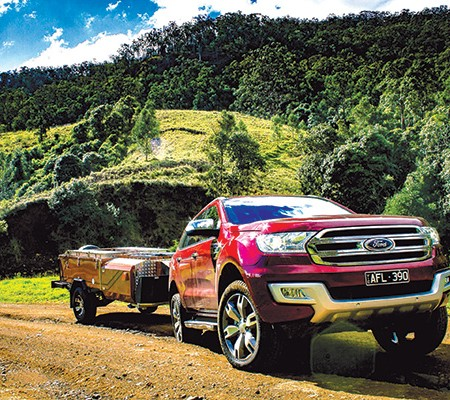 Ford Everest Titanium 2016