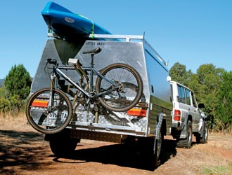The Wilmax Wilmax Off Road Camp Kitchen rig handles the rough stuff with ease.