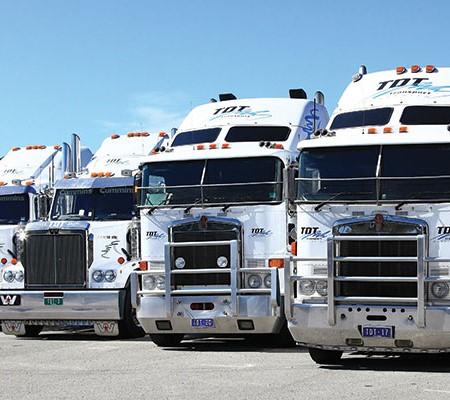TDT Training trucks