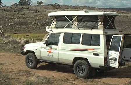 Kea Lancruiser campervan