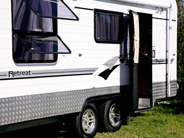 Retreat Caravans Hayman exterior