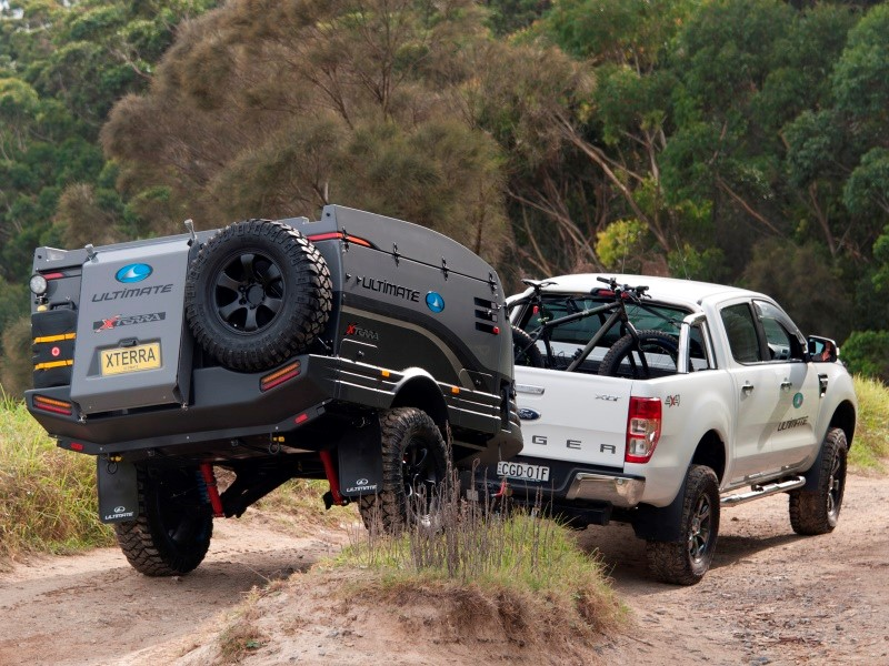 The new Xterra is designed to follow you wherever your 4WD will go.