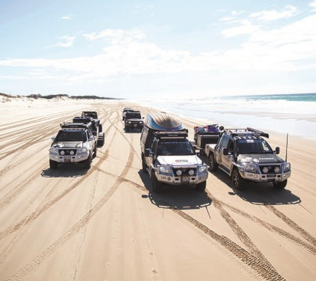 While Main Beach is not the hardest beach to drive, it's deceptive