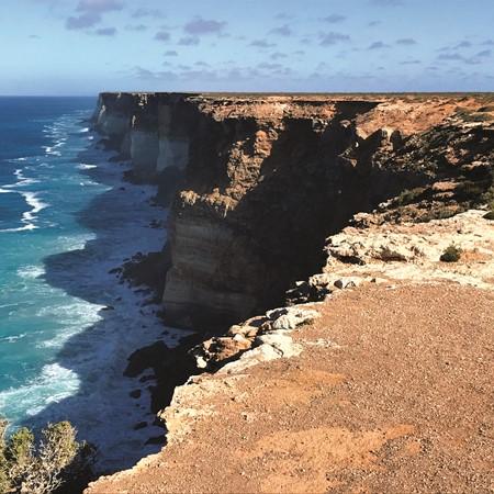 South Australia's far west coast