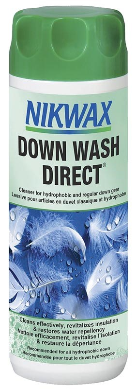 Are you looking for the WD-40 equivalent for your outdoor gear? The new Nikwax Down Wash Direct coul