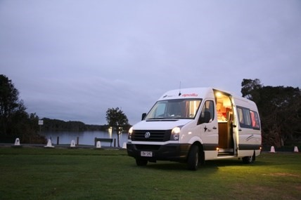 Caravan, RV and camper hire in New South Wales
