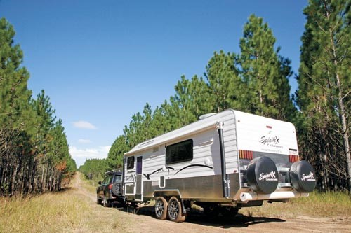 Spinifex EpiX caravan
