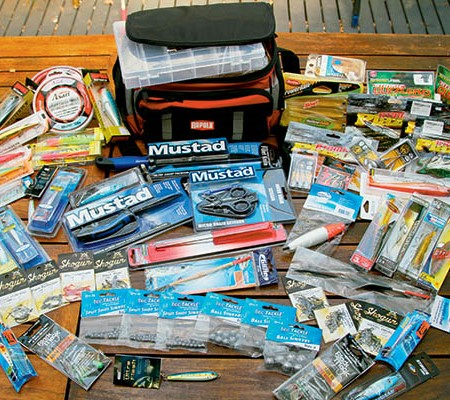 How to set up a tackle box