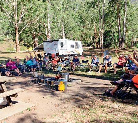 Australian Caravan Club catch up