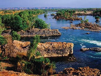 Greatest rivers in Australia