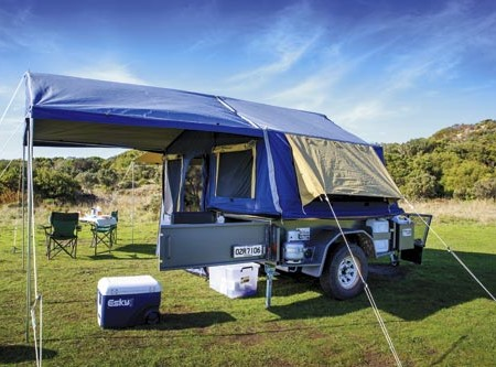The Van Cruiser Off Road Camper 9. A great entry-level camper that won't break the bank.