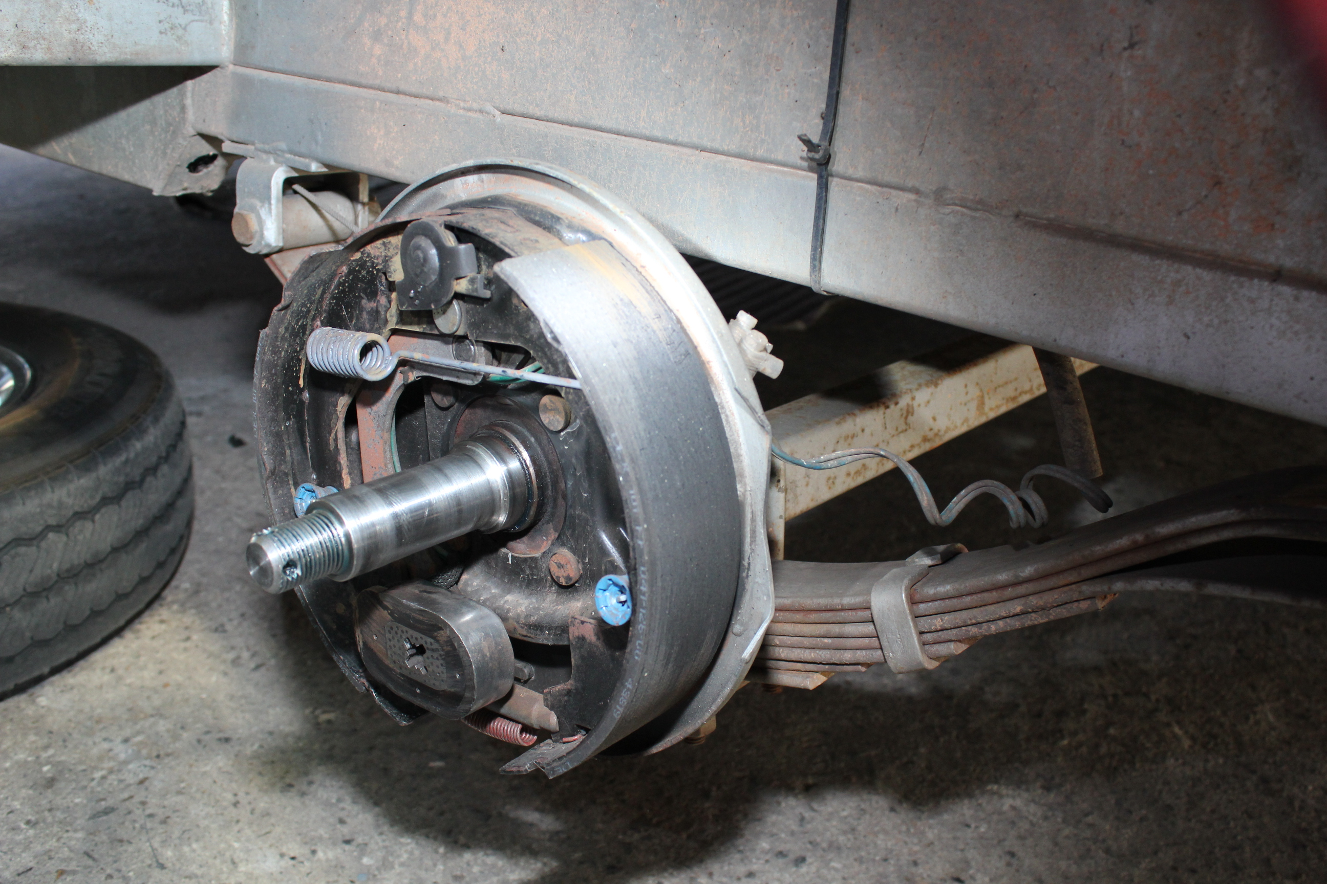Caravan Brakes Drum Electric