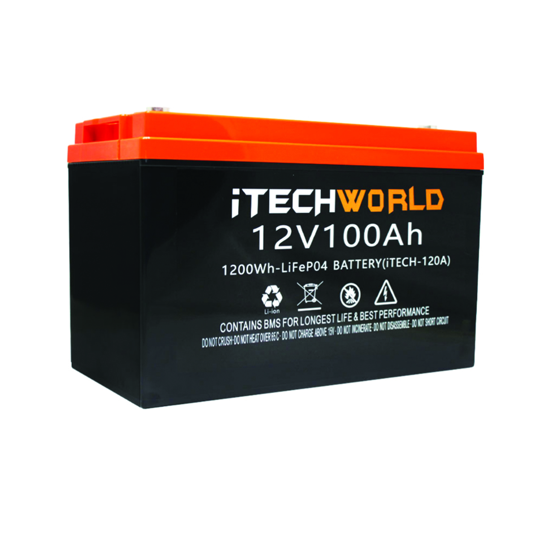 An iTechworld battery in the current range