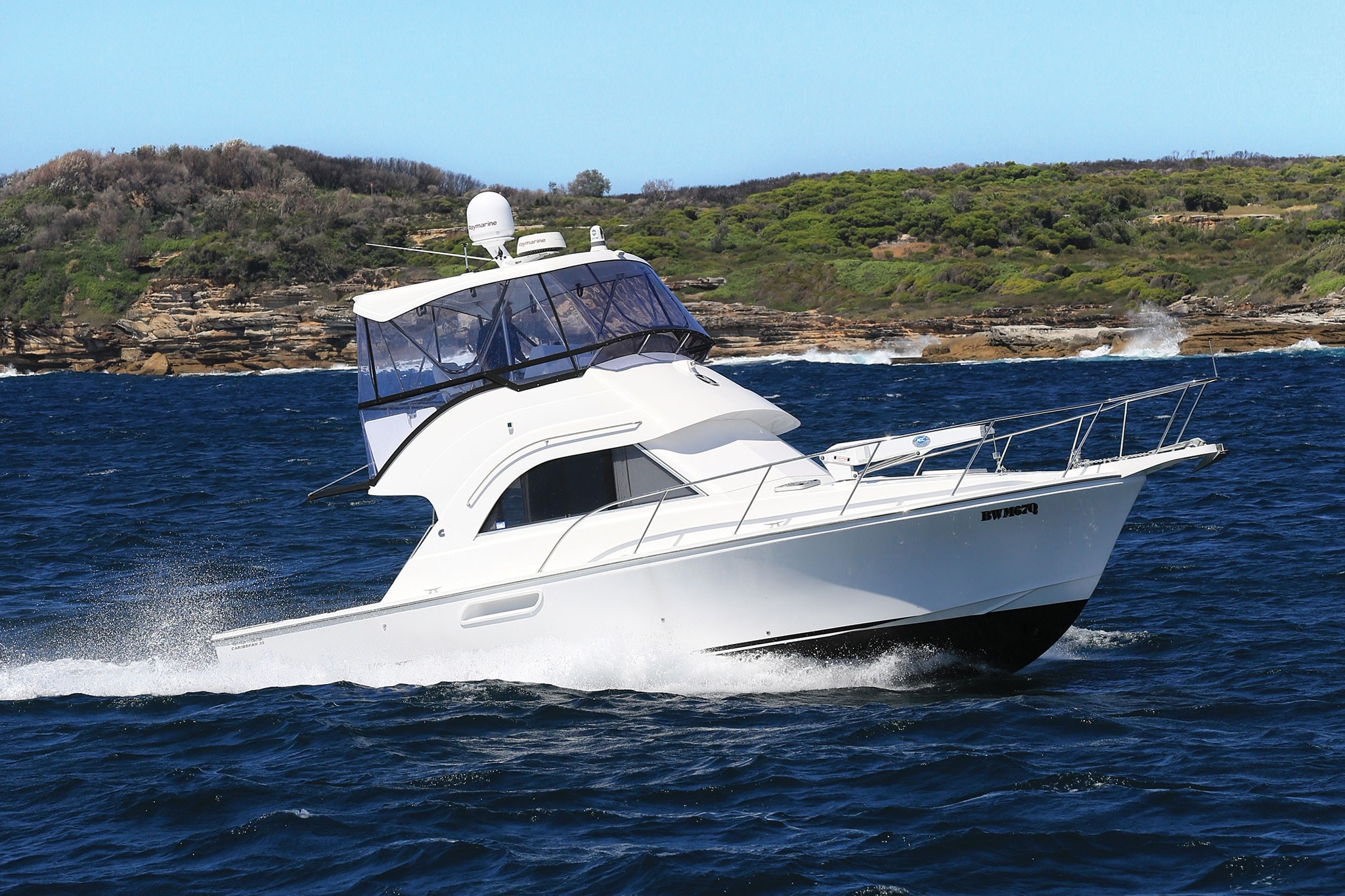 Review: Caribbean 35 MK3 Powerboat