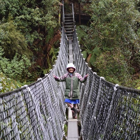 Tasmanian island touring