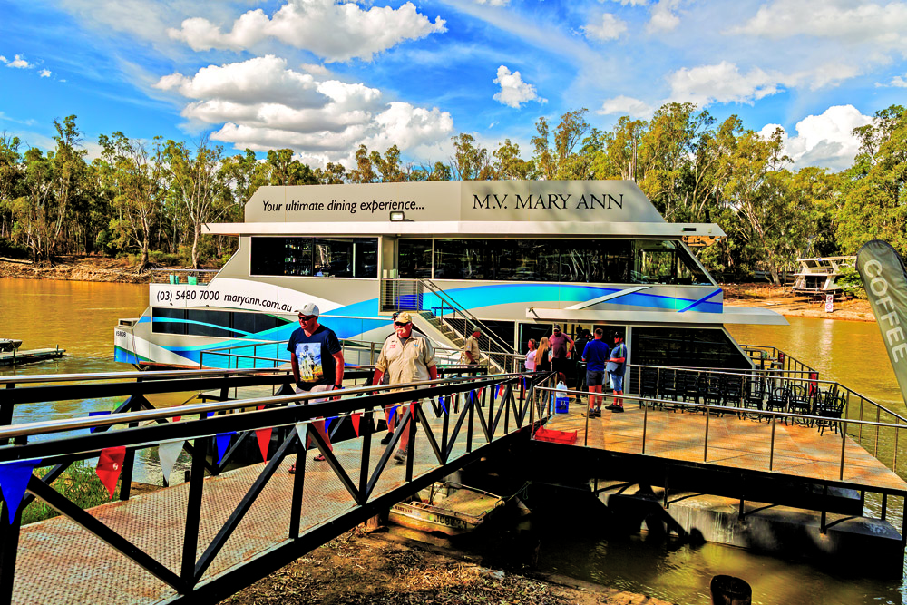 Muster on the Murray