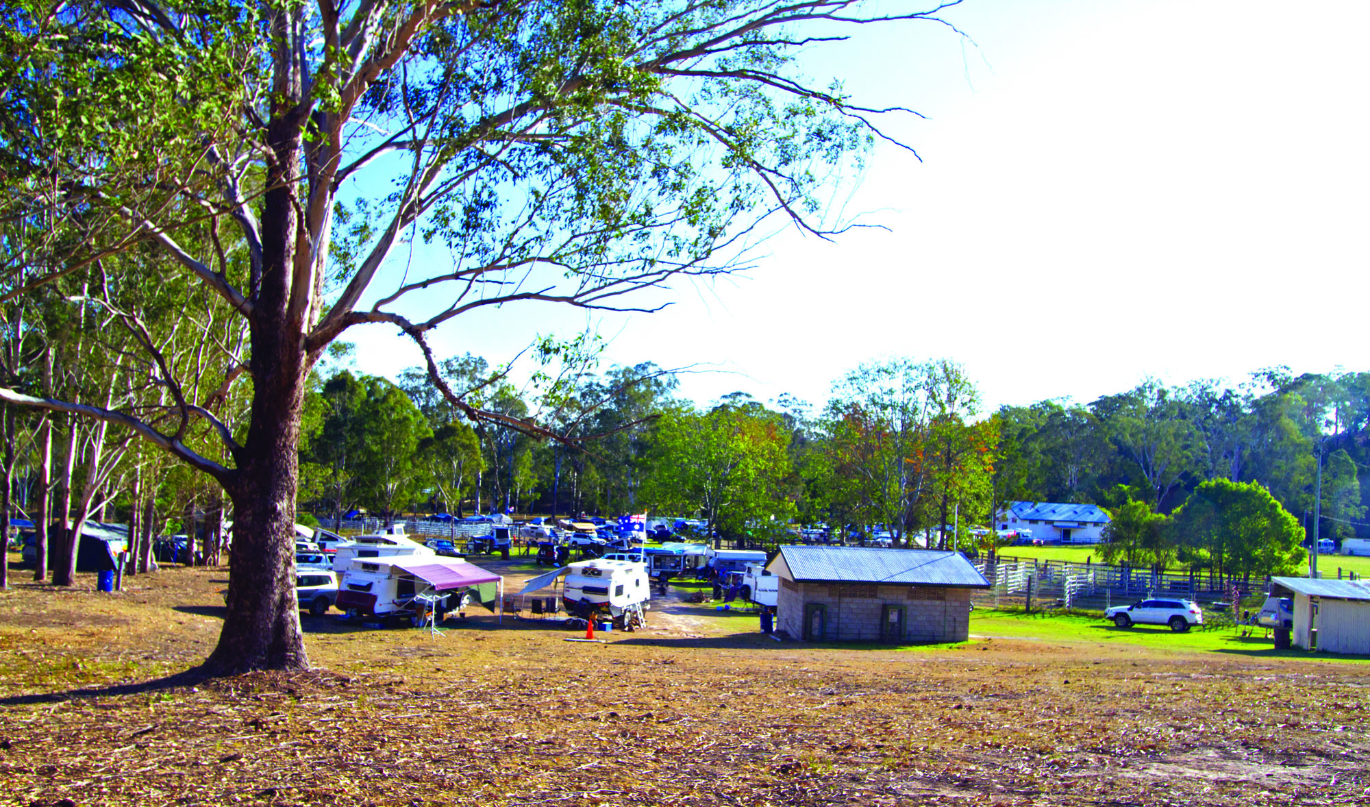 The campgrounds in Bonalbo