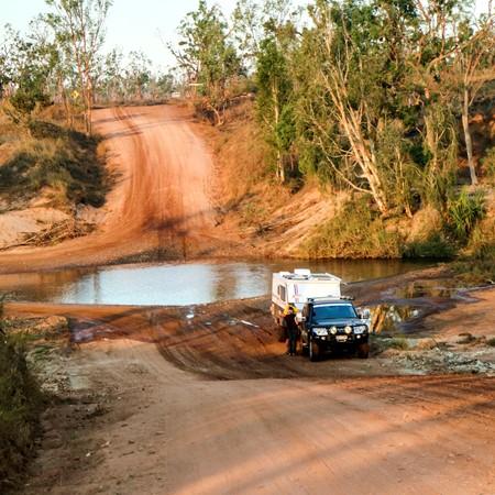 McArthur River Crossing outside Borroloola. IMAGE CREDIT: Theo Sloots.