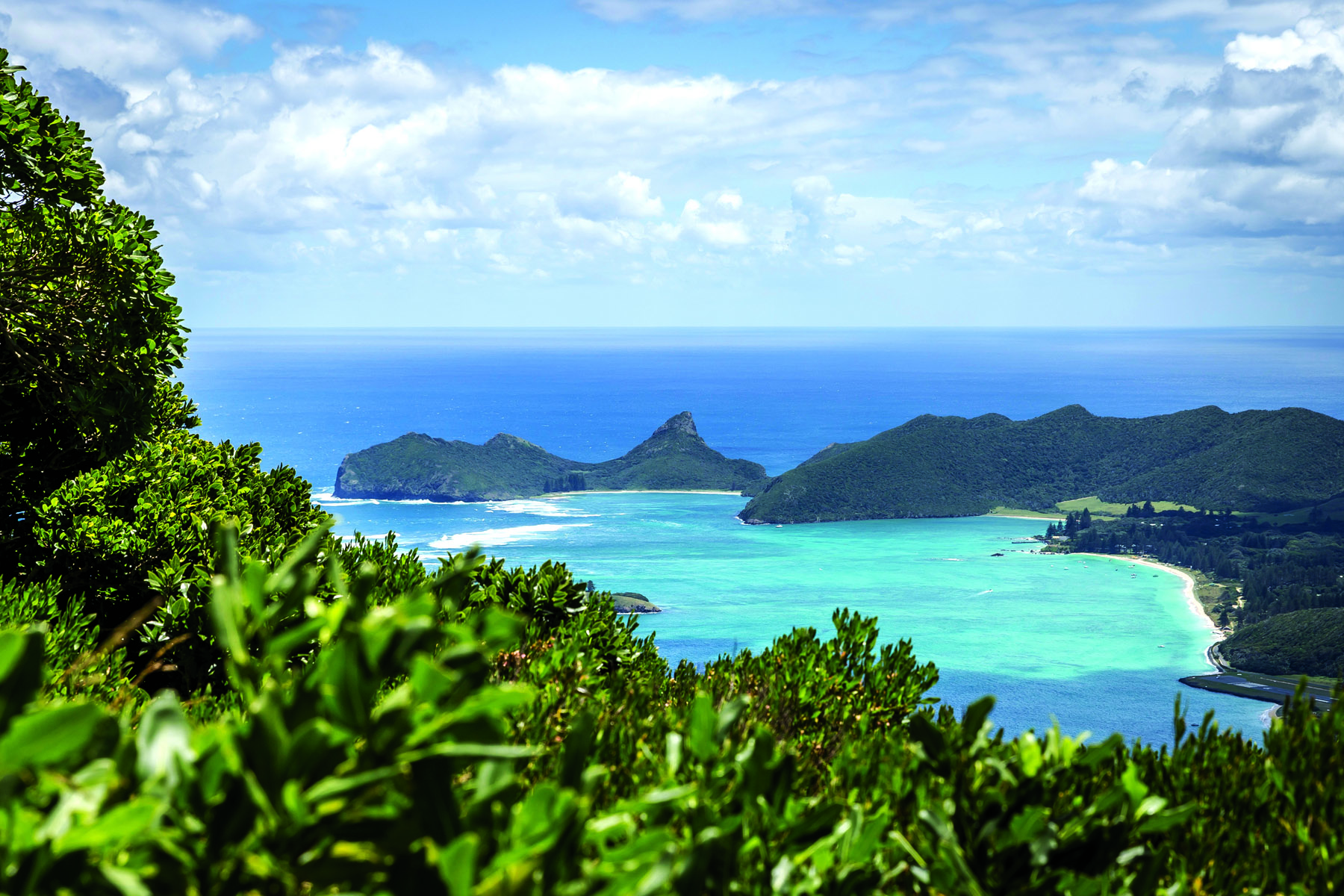 It's easy to vibe the scenery on Lord Howe Island