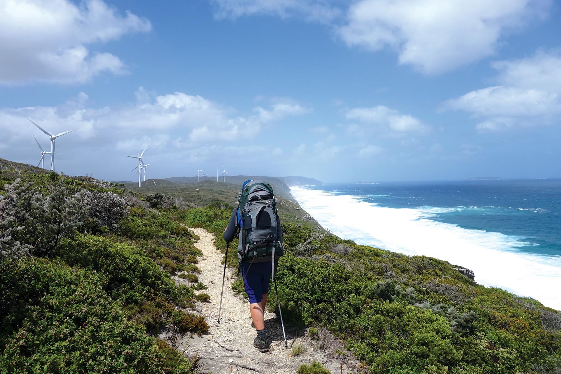 Laura Waters hiking