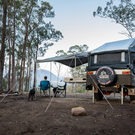Camping is becoming more and more popular