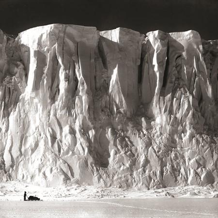 Barne Glacier. PICTURE CREDIT: Trip photographer Herbert Ponting