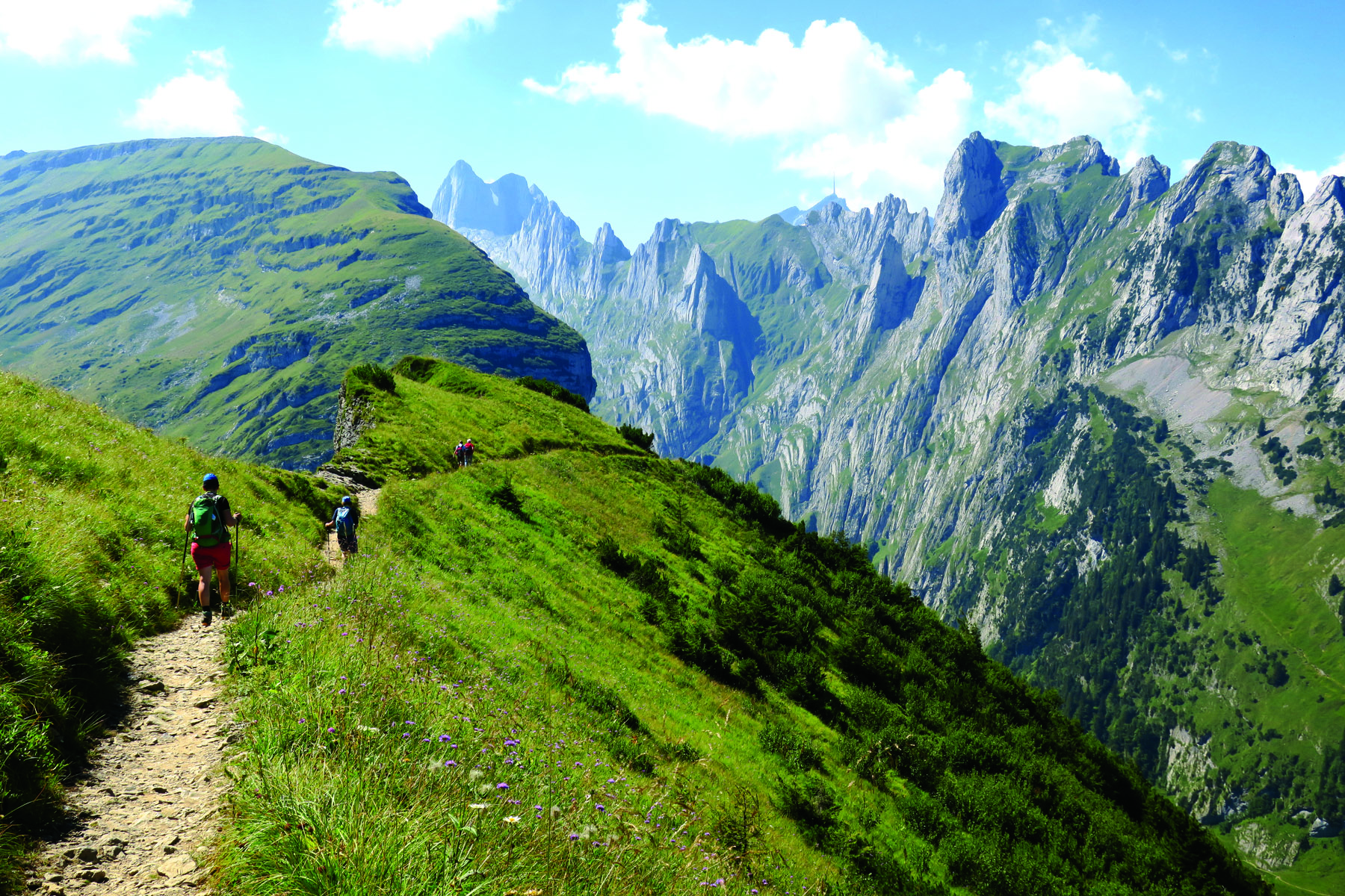 Locals are right when they say 'it's up and down, up and down' from Hoher Kasten to Staubern