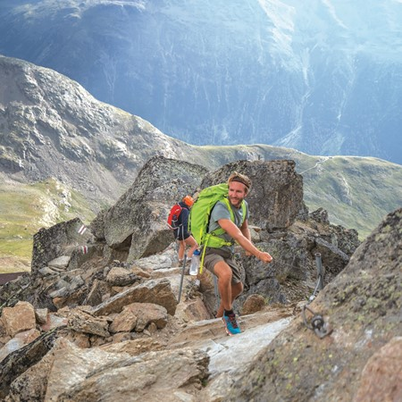 Approaching a summit, no rare deed in Switzerland. PICTURE CREDIT: swissmediavision/Getty Images