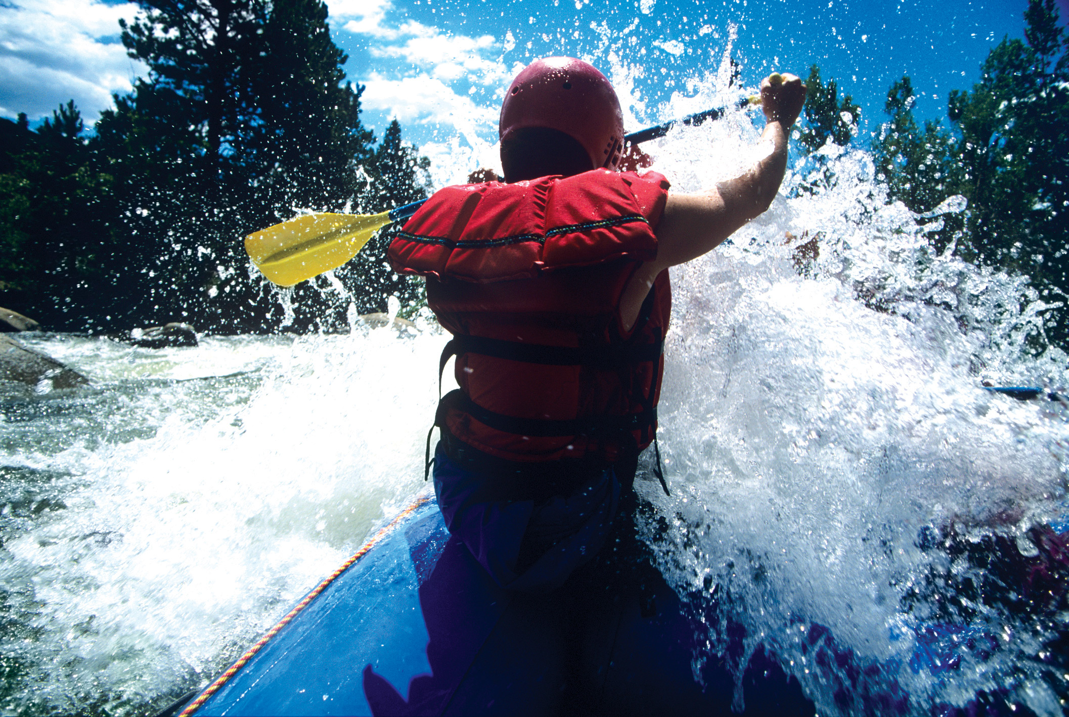 Making a splash. CREDIT: Mike Watson Images